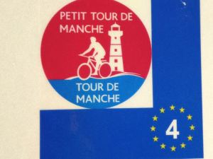 Petit Tour de Manche symbol guides the way