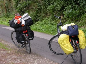 Bicycling with panniers