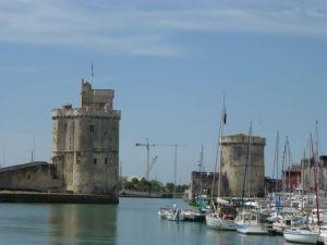La Rochelle, the ending point of La Velo Francette