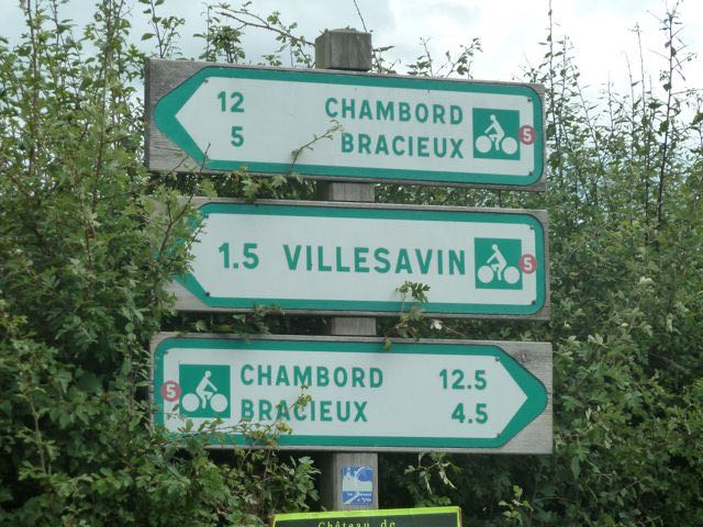 Routes signposted in both directions