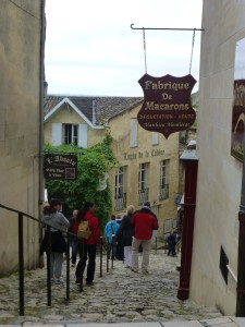 Steep cobblestone streets called tertres are part of Saint-Emilio's charm