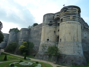 One of my favorites, the Chateau de Angers