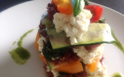 A New View of Healthy Eating: Matthew Kenney Culinary Journey: My First Raw Heirloom Tomato Lasagna!