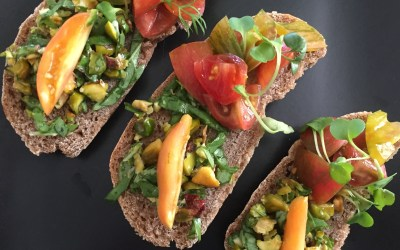 A New View of Healthy Eating: Sprouted Spelt Flatbread: Cooked & Raw Cuisine