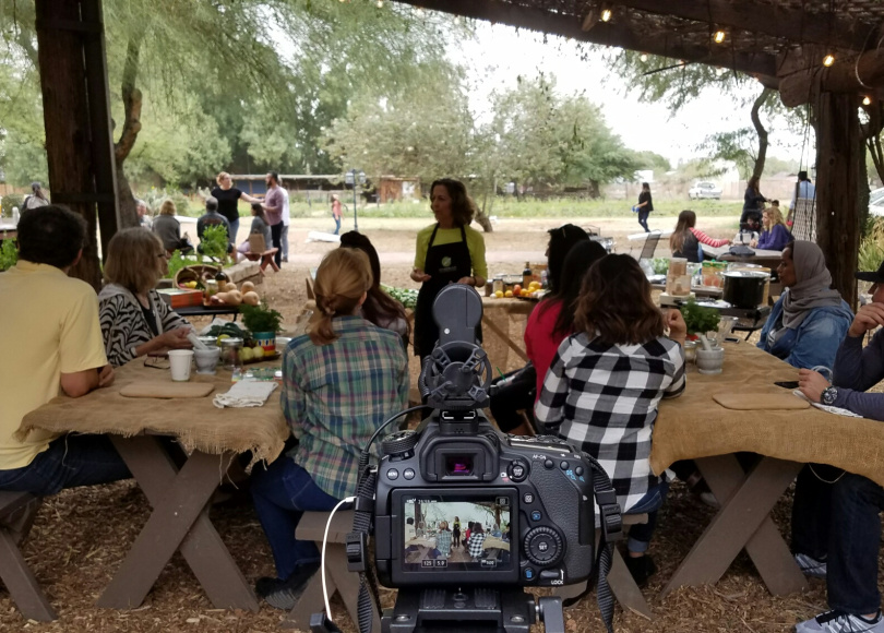 A New View of Healthy Eating: Cooking Class Video
