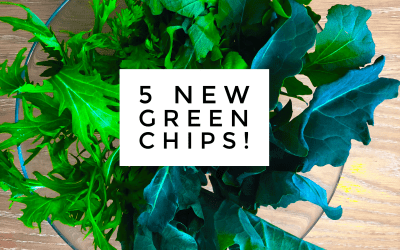 Experience Nutrition: Farm-to-Table Recipe: More than Kale Chips. 5 New Leafy Green Chips!