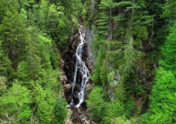 Waterfalls in Maine - Angel Falls