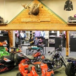 Boss Power Equipment, ATV Dealer Snowmobile Dealer Snowmobile Repairs, Rangeley Maine
