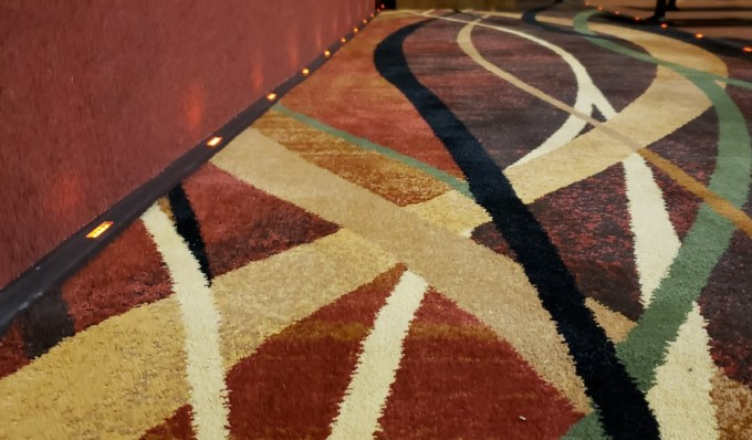 Rangeley Friends of the Arts Lakeside Theater new carpet