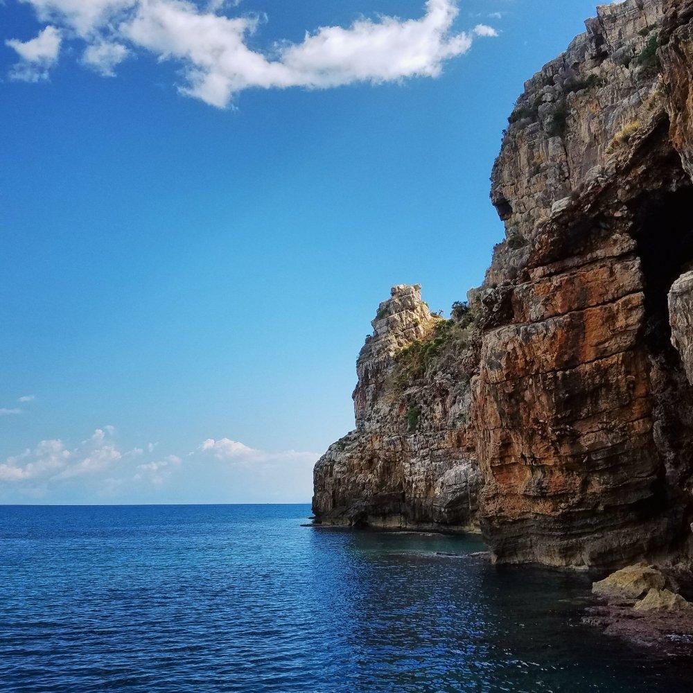 Sea view of Lo Zingaro Nature Preserve