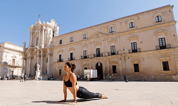 Yoga in Siracusa Sicily