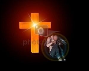 croix+homme malheureux