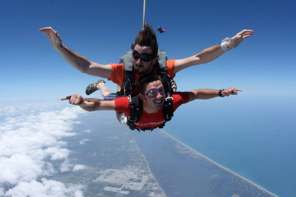 First Time Skydiving | Experiences You Should Have Podcast