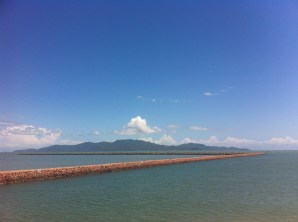 Magnetic Island in the distance