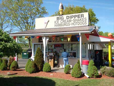 Big Dipper Ice Cream Shop