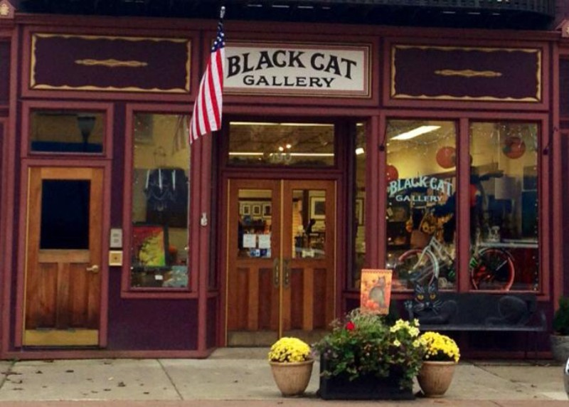 Black Cat Gallery Artisan Gift Shop