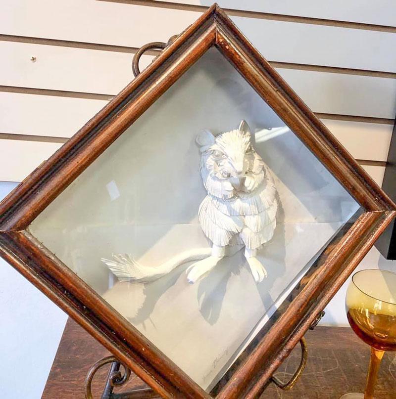 Black-Cat-Gallery-Owego-Squirrel-Paper-Art