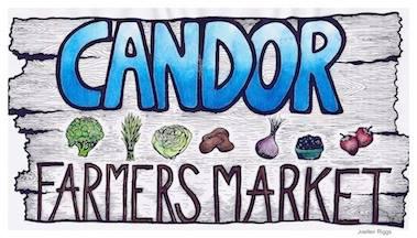 Candor Market Sign