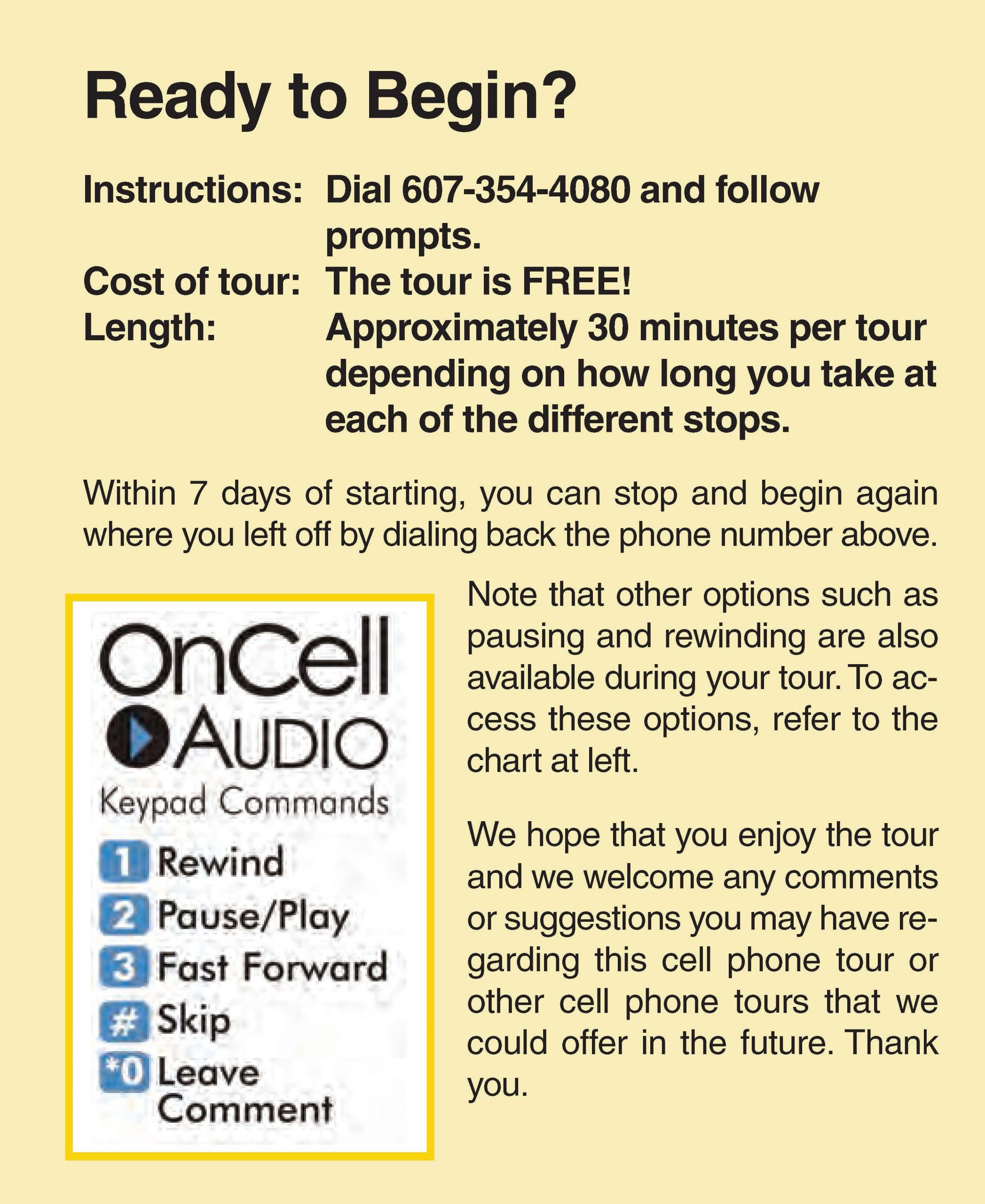 Historic Owego Walking Tour Brochure Page 3A