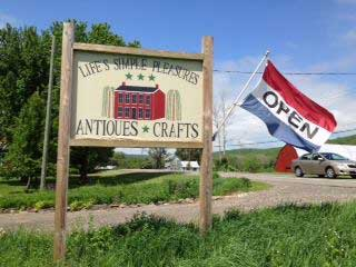 Life's Simple Pleasures Antiques and Gifts