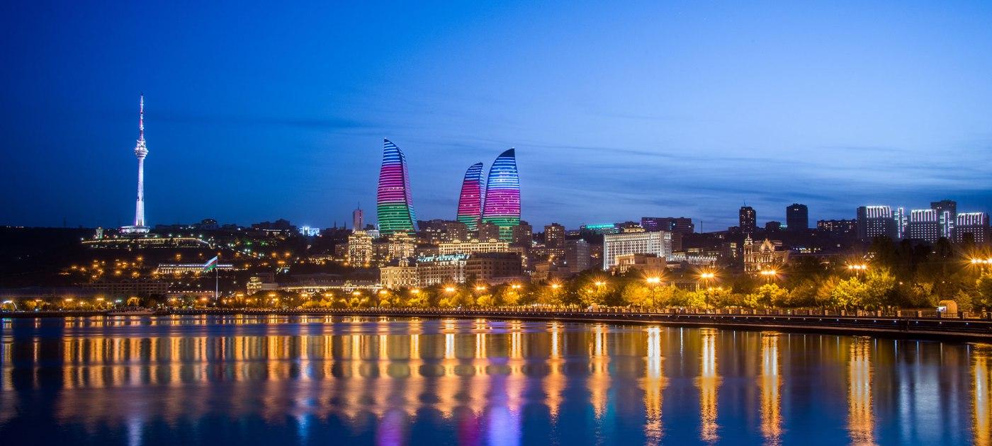 Bakú, Azerbaiyán.