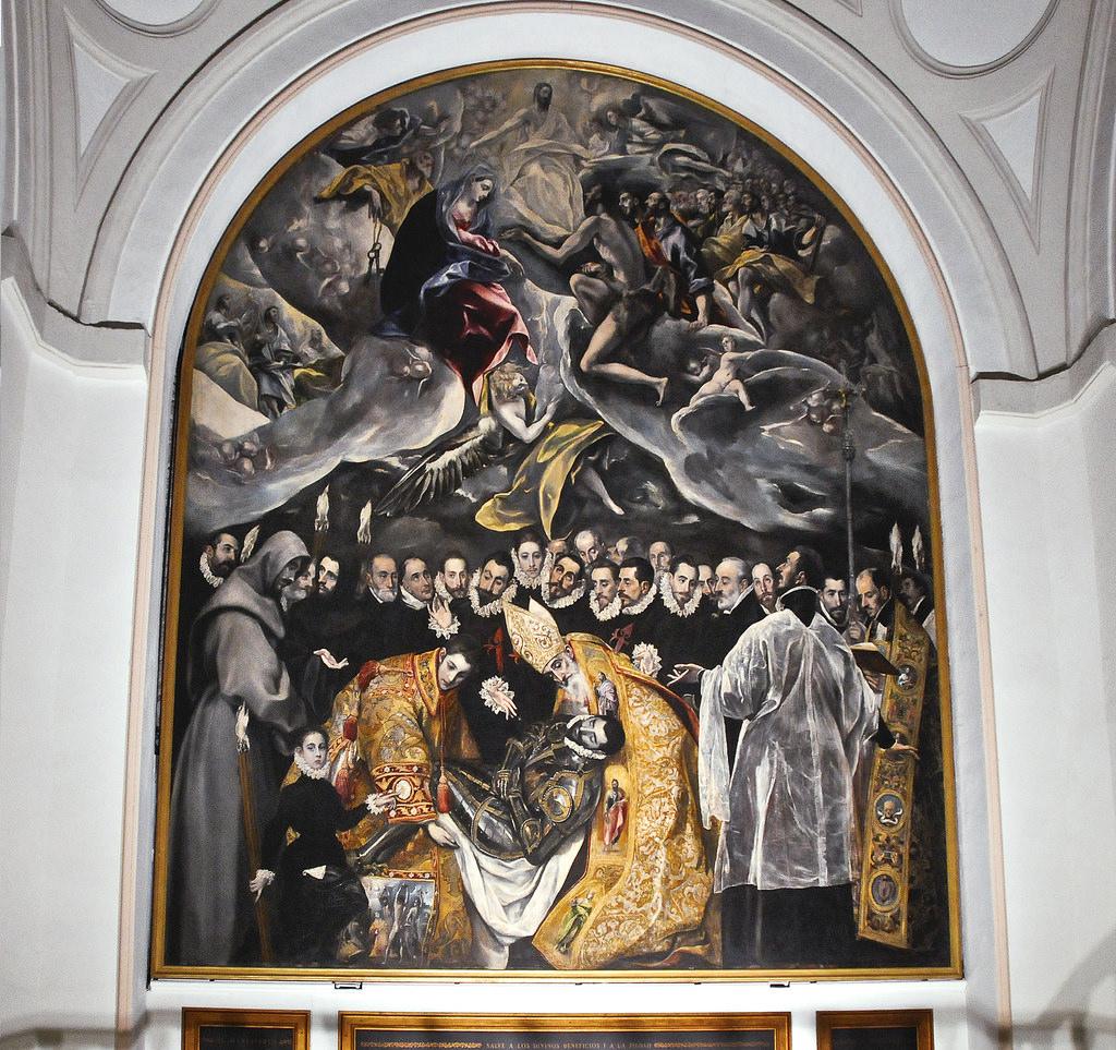El entierro del Conde Orgaz, de El Greco