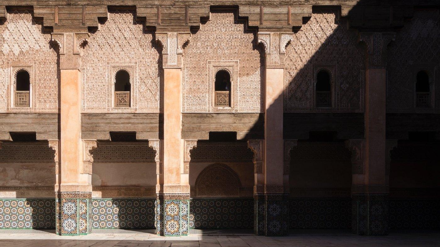 Madrasa Ben Youssef, en Marrakech