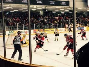 Hockey Ottawa 67 partido