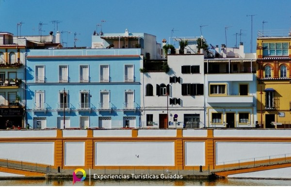 Calle Betis, barrio de Triana