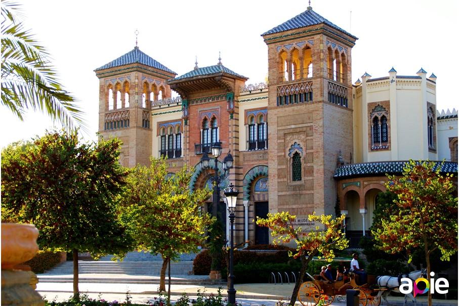 Parque de María Luisa, Plaza de América de Sevilla
