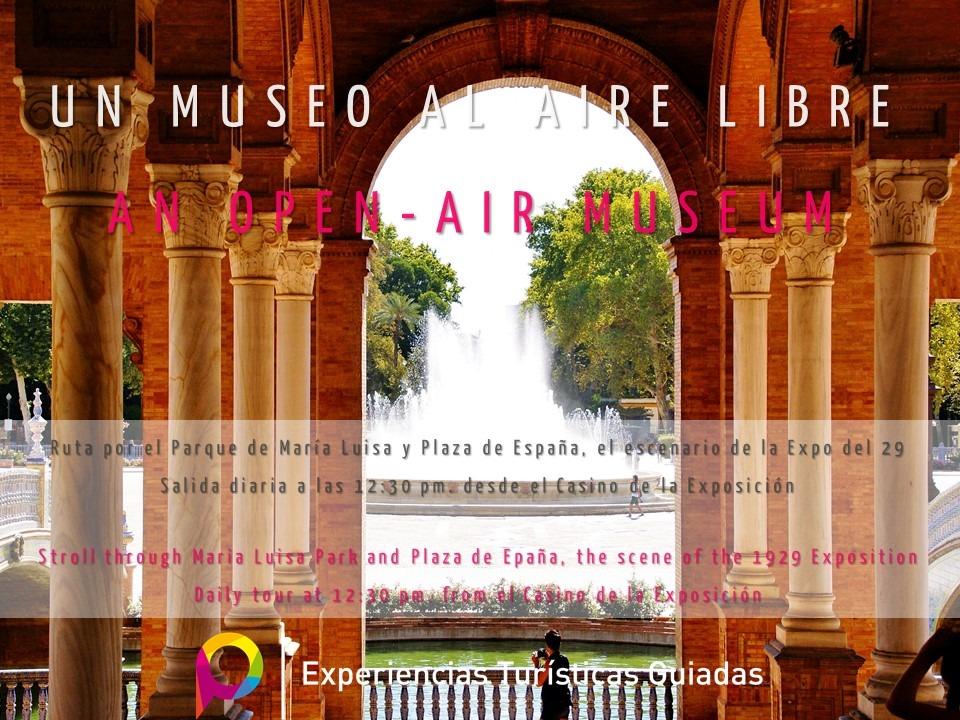 Ruta por el Parque de María Luisa y Plaza de España