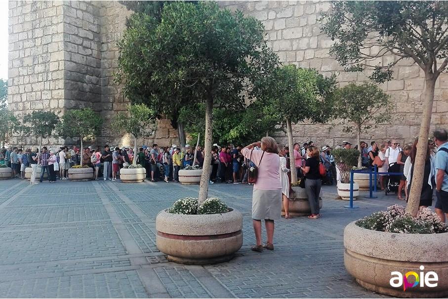 Evitar las colas de los Reales Alcázares de Sevilla
