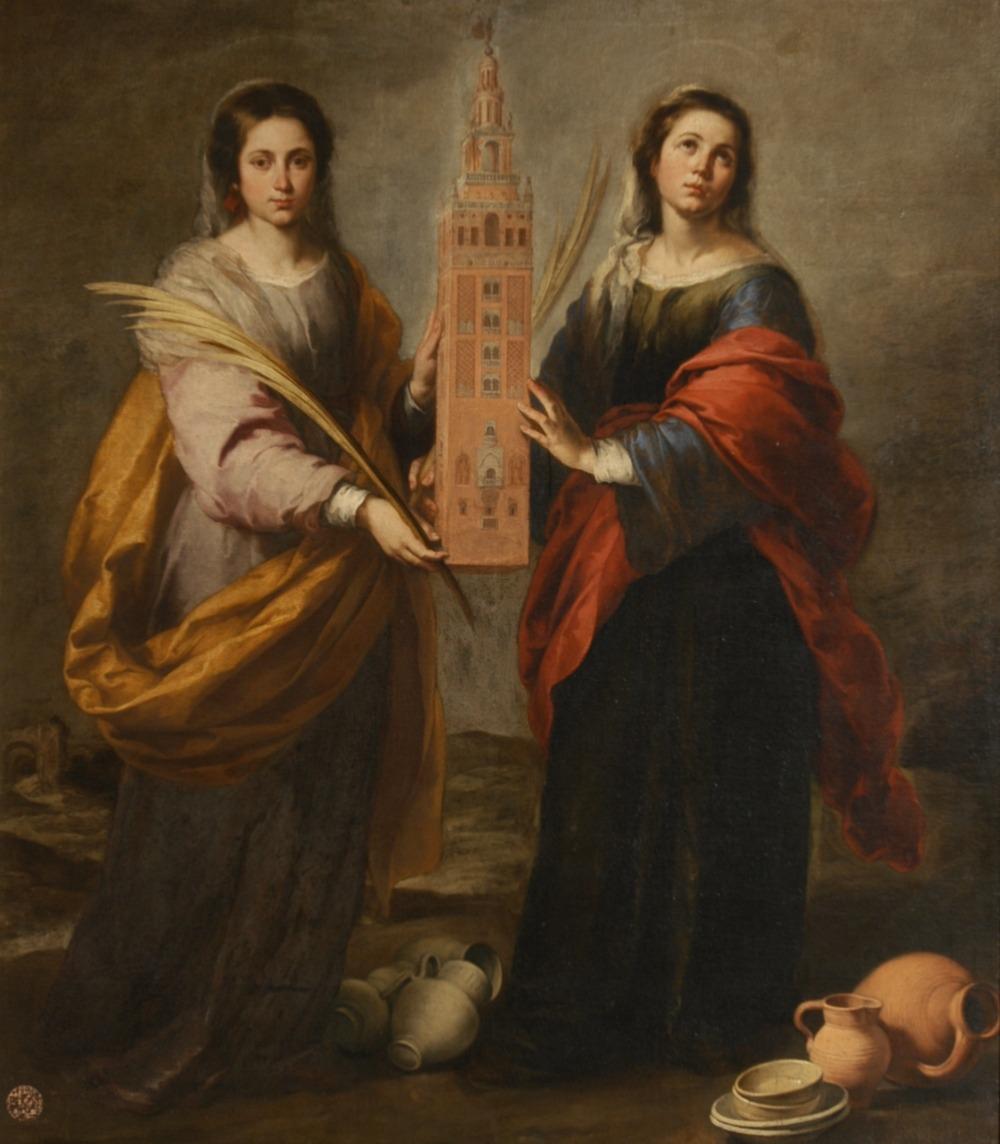 St Justa y St Rufina, Murillo