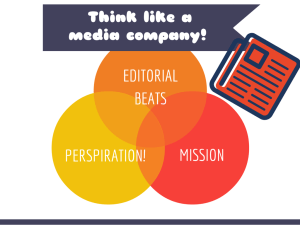 Think like a media company