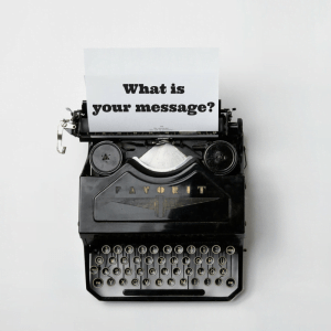 What is your message?