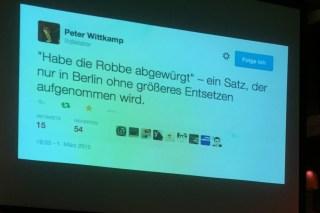 Stimmt die These, das man weniger Berlin Tweets postet, je länger man hier wohnt?