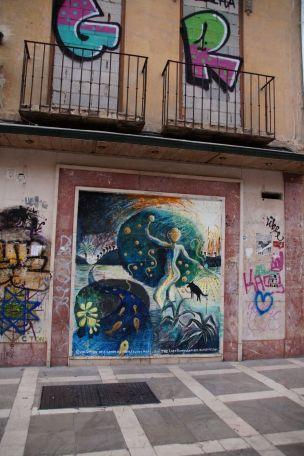 Streetart in Granada