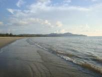 quiet beautiful beach