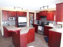 our custom designed kitchen