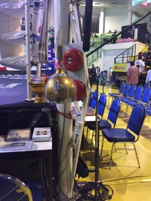 The ringside bell