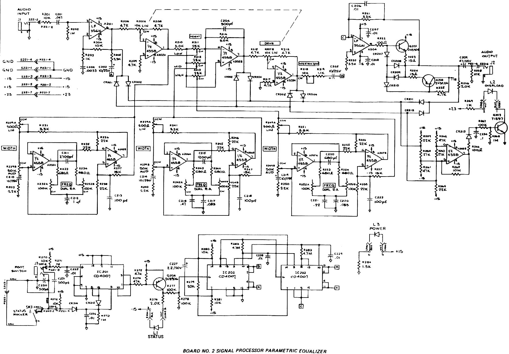 7 Band Equalizer Wiring Diagram