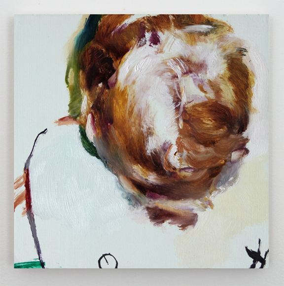 "Jaclyn Conley Overhead oil on panel 6x6"" 2013 http://www.jaclynconley.com/current_painting/pages/Overheard.htm"