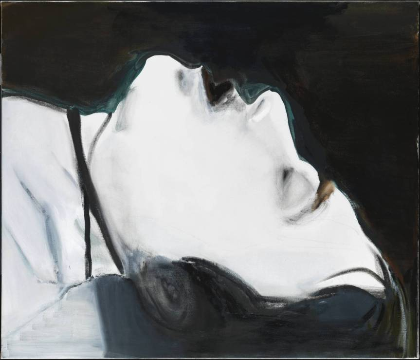 Marlene Dumas Stern Oil paint on canvas 1101 x 1302 x 24 mm http://www.tate.org.uk/art/artworks/dumas-stern-t12312 2004