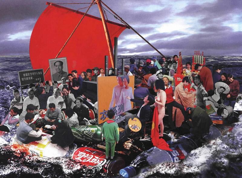 Hu Jieming, Raft of Medusa, 2002
