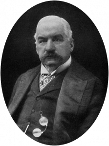 J.P. Morgan, who singlehandedly kept the Panic of 1907 from expanding