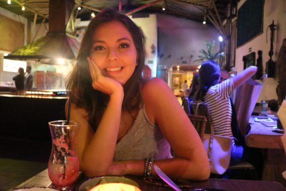 Bruna no Restaurante Tantra - Foto: ExperimenteSP