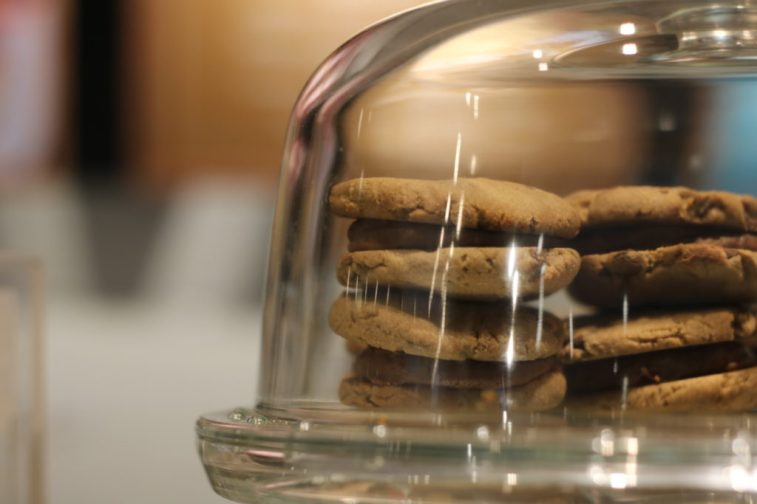 Cookie recheado com brigadeiro - Foto: ExperimenteSP