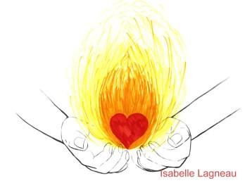 Le coeur en feu