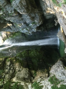 Mostnica waterfall