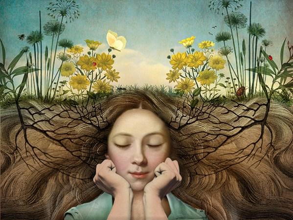 The girl who sleeps under the earth